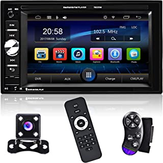 $72 » Double Din Multimedia Car Stereo 6.2 Inch HD LCD Touch Screen Car Radio Player Bluetooth Audio and Hands Free, MP5 Player ...