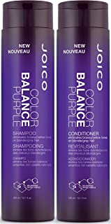 Joico Color Balance Purple Shampoo Plus Conditioner 10.1 oz.