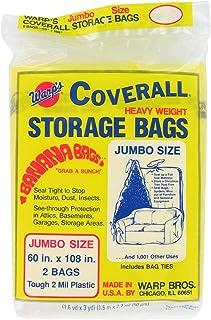 Warp Brothers CB-60 Warp's Banana Bags, Plastic, 60 x 108-Inch. (Pack of 2)