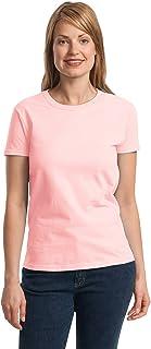 Gildan Ultra Cotton Women's T-Shirt w/Pink Glitter S