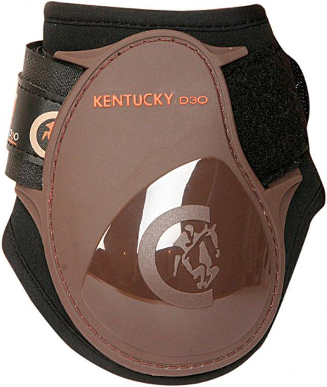 Kentucky Fetlock Boot Light Young Horse Light Brown Young Horses Fetlock Boots Brown
