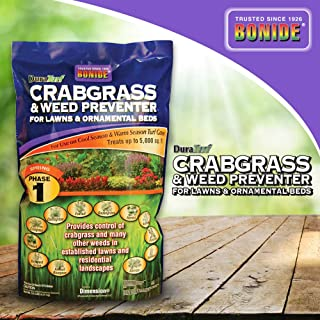 Bonide (BND60400) - Crabgrass and Weed Preventer, Dura Turf Crab-Grass Pre-Emergent Control for Lawn and Ornamental Garden...