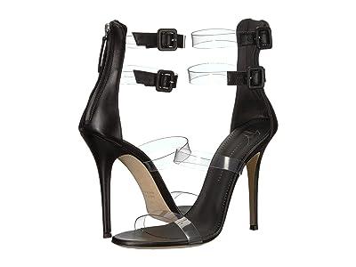 Giuseppe Zanotti Dehlia Transparent Strap Heel Sandal (Vinile/Spess. 1.0 Transparente) Women