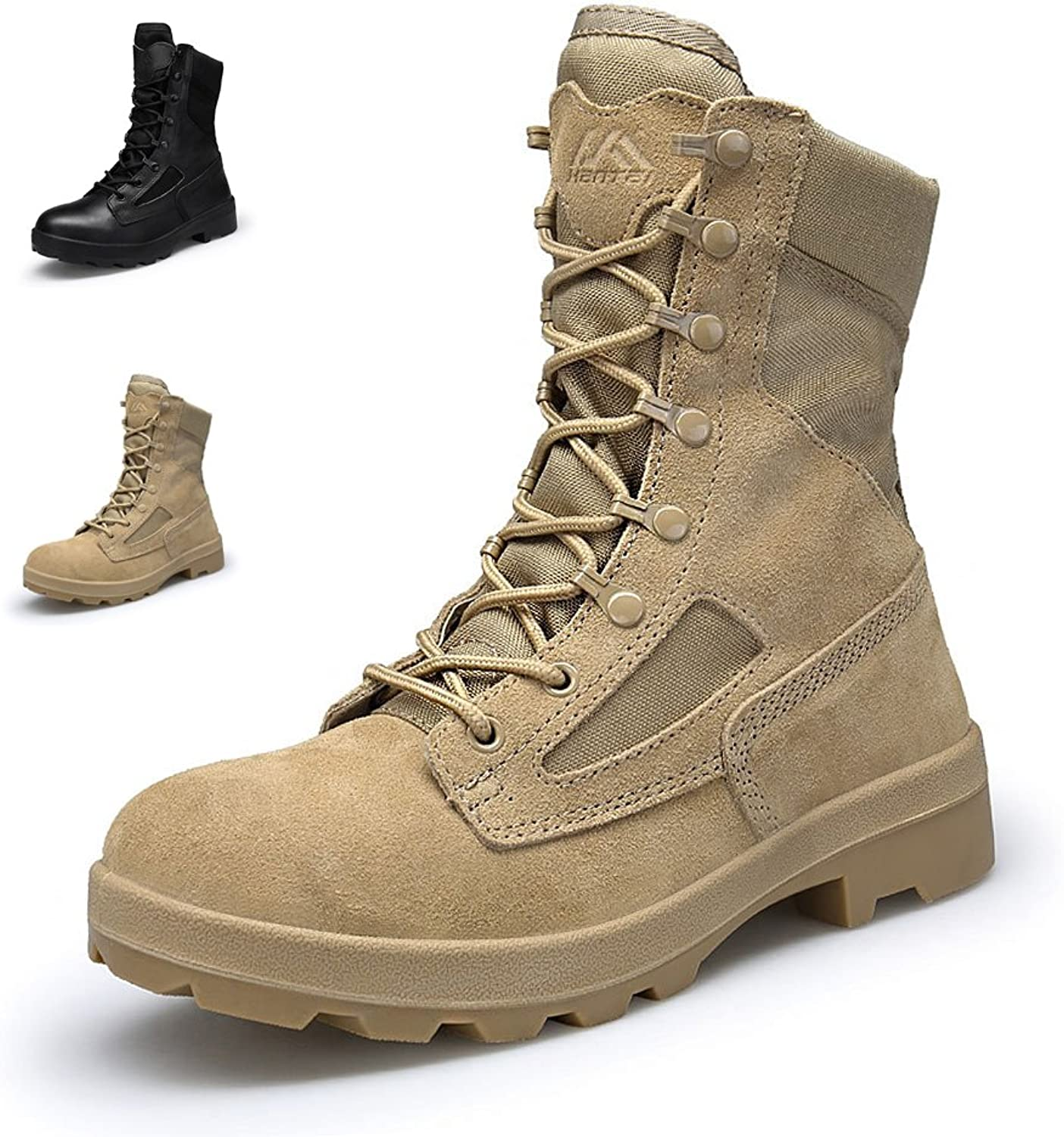 ENLEN&BENNA Army Boots for Men