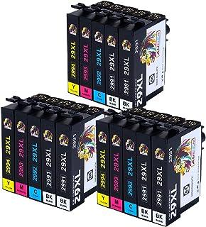 AUBEN 29XL para Epson 29 Cartuchos de Tinta 15 Compatibles con Epson Expression Home XP-255 XP-245 XP-342 XP-442 XP-235 XP...