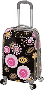 Luggage 20 Inch Polycarbonate Carry On Luggage, Pucci, One Size
