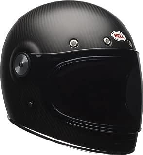 Bell Bullitt Carbon Full-Face Motorcycle Helmet(Carbon Matte, Large)