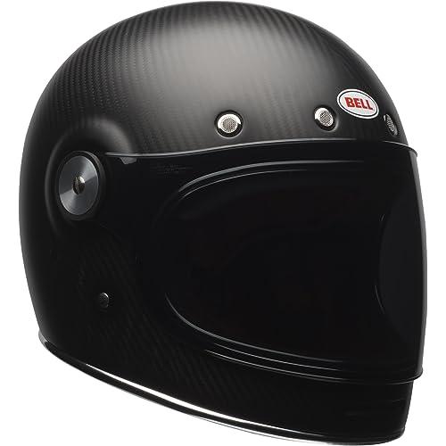 Bell Bullitt Carbon Full-Face Motorcycle Helmet(Carbon Matte, Medium)