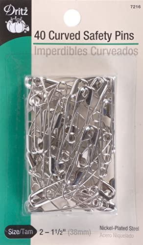 MIXED LARGE MEDIUM SMALL SAFETY PINS SEWING NEEDLE CURVED UPHOLSTERY REPAIR