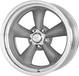 AMERICAN RACING CLASSIC TORQ THRUST II ONE PIECE MAG GRAY W/MACHINED LIP CLASSIC TORQ THRUST II ONE PIECE 15x10 5x127.00 MAG GRAY W/MACHINED LIP (-44 mm) rims