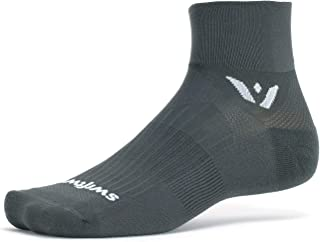 Swiftwick- ASPIRE TWO Running & Cycling Socks, Lightweight, Compression Fit