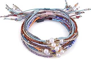Bohemia Tassels Friendship Bracelet Handmade Beaded Charm Bangles New Jewelry 10 PCS