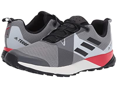 adidas Outdoor Terrex Two (Grey Three/Black/Active Red) Men