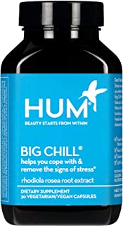 HUM Big Chill - Stress Management Support Supplement - Promotes Calm Mood & Focus with 500mg Rhodiola Rosea...