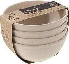 EVO Sustainable Goods 16 oz. Bowl Set, White