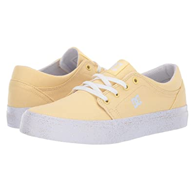 DC Kids Trase TX SE (Little Kid/Big Kid) (Pale Banana) Girls Shoes