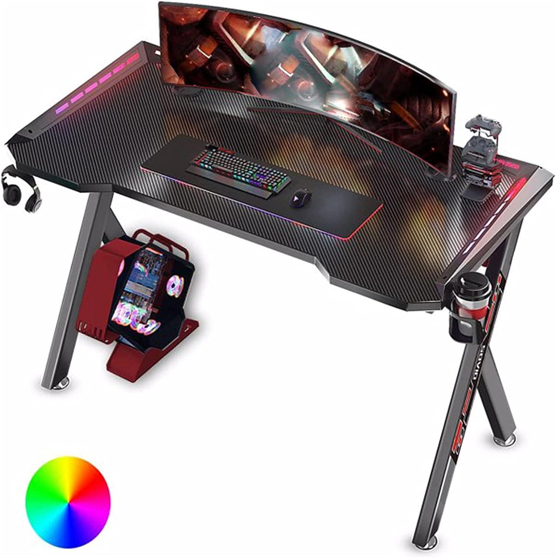 NIKJ Game Table 47-in Y-Shaped Denver Mall Dual A Branded goods Desk Monitor Setting Gamer