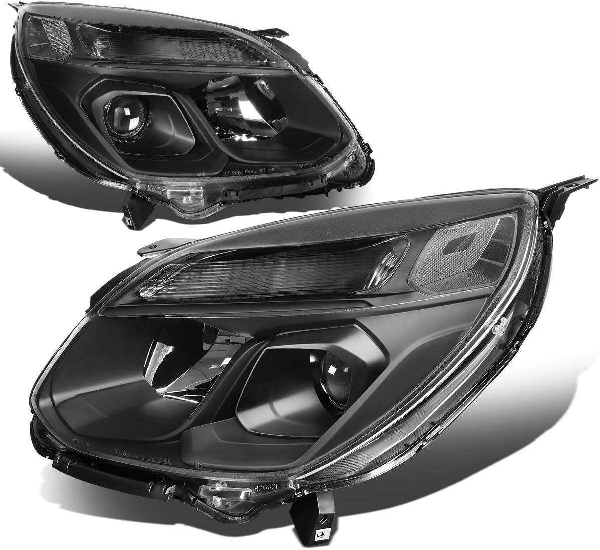 2PC Black Housing Clear Corner Projector w Direct stock discount Columbus Mall Signa Headlights Turn