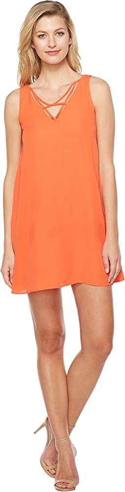 Brigitte Bailey - Achelle Sleeveless Dress with Strap Detail