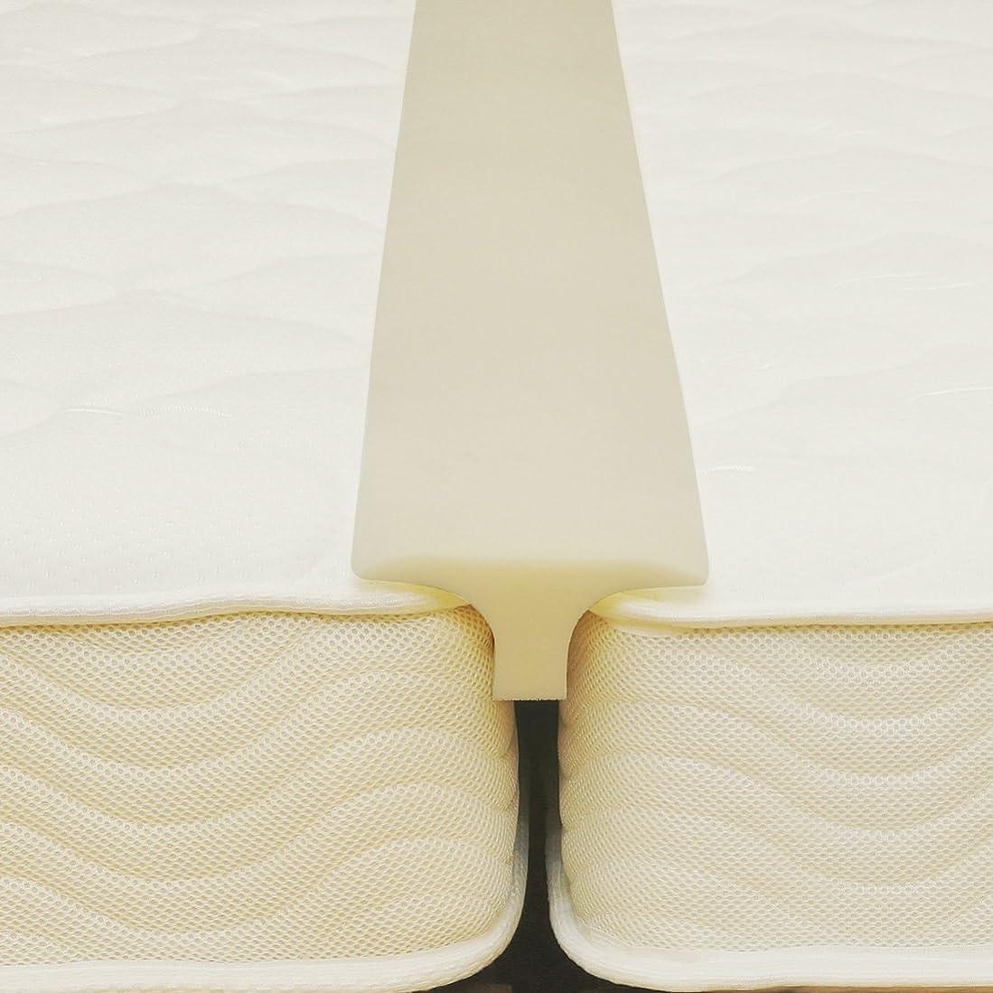 知るマイルド干し草洗えるカバー付き すきまパッド ファミリーサイズ 2台のつなぎ目隙間をうめる ベッド用 隙間パッド (カバーなし?本体のみ)