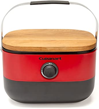 Cuisinart CGG-750 Portable, Venture Gas Grill, Red