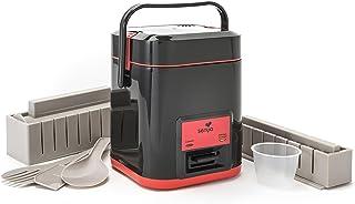 Senya SYCK-RC003/A Arrocera y kit, 300 W, 1 Liter, Plastic, Negro
