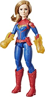 Captain Marvel Movie Cosmic Captain Marvel Super Hero Doll (Ages 6 and up)