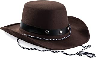 Baby Sized Western Cowboy Rodeo Hat Brown