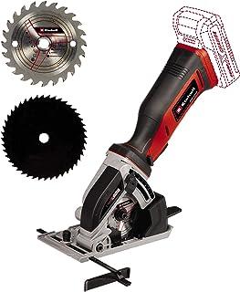 Einhell Cordless Mini Circular Saw TE-CS 18/89 Li-Solo Power X-Change (18 V, Li-Ion, 2500 min-1, 28 mm Cutting Depth, 89 m...