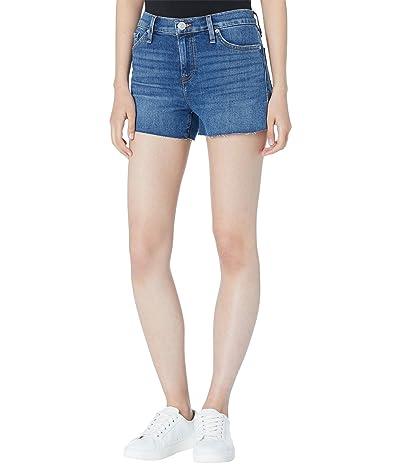 Hudson Jeans Gemma Mid-Rise Cutoffs Shorts in Moon Hour Women