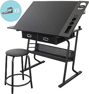 m/élamine 120x75x60 cm Blanc tumueblekit Table Bureau