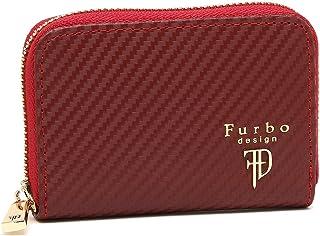 [フルボデザイン] メンズ コインケース Furbo design FRB118 ブラック ワイン [並行輸入品]