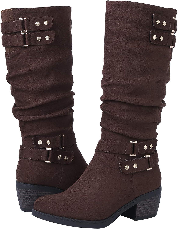 GLOBALWIN Women's 18YY03 Brown Fashion Boots 9.5M