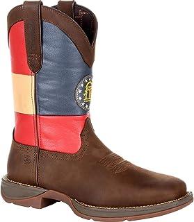 حذاء برقبة غربي بعلم ولاية جورجيا من دورانجو