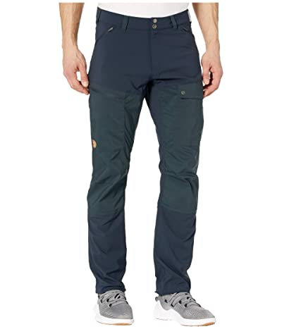 Fjallraven Abisko Midsummer Trousers (Dark Navy) Men