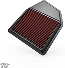 K&N 33-2402 Black High Performance Replacement Air Filter For Honda Accord 2008 Onwards