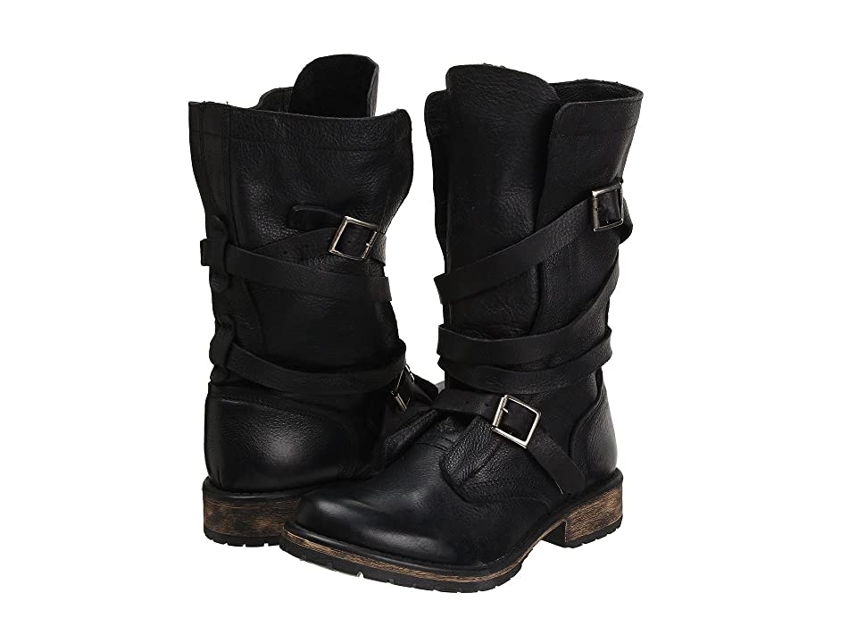 Steve Madden Banddit Boot (Black Leather) Women