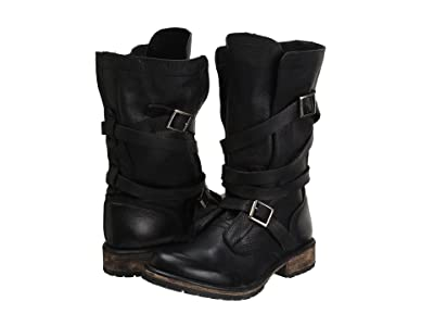 Steve Madden Banddit Boot (Black Leather) Women