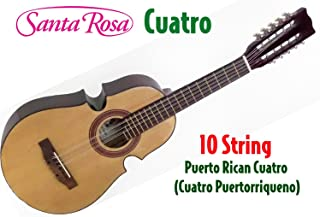 Santa Rosa KQ100 Puerto Rican 10 String Cuatro (Cuatro Puertorriqueno)