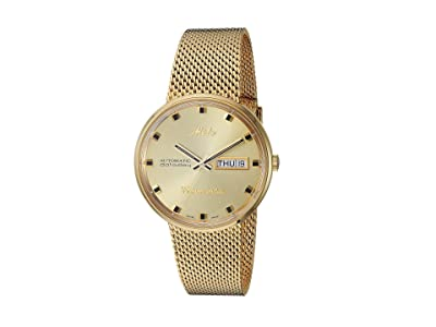 Mido Commander Gold Milanese Bracelet M842932213 (Champagne) Watches