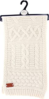 Aran Traditions Cable Knit Winter Scarf