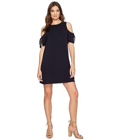 kensie Drapey French Terry Dress KS1K7541 (Darkest Navy) Women