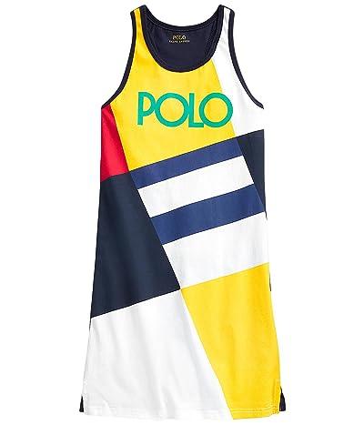 Polo Ralph Lauren Kids Logo Cotton Jersey Tank Dress (Little Kids/Big Kids)