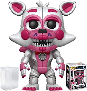 Funko Pop! Games: Five Nights at Freddy's Sister Location - Funtime Foxy Vinyl Figure (Bundled with Pop Box Protector Case)