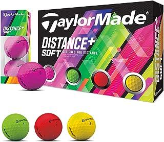 テーラーメイド DISTANCE+ ボール Distance+ ソフト マルチカラーボール 5ダースセット 5ダース(60個入り)