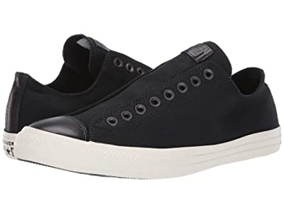 Converse Chuck Taylor All Star Slip-On (Black/White/Black 2) Slip on Shoes