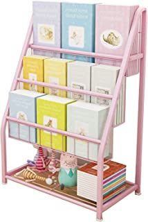 Bibliothèque pour Enfants Enfants Book Rack Rack Bibliothèque Enfants Étagères Unité de Stockage et Rack dans la Chambre d...