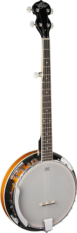 Oscar Schmidt Brand new OB4 5-string Opening large release sale Banjo Finish Gloss