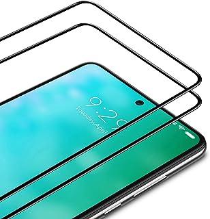 TAMOWA skärmskydd för Xiaomi Redmi Note 9, 2-pack, helskärm premium härdat glasfilm 9H hårdhet skottsäkert skärmskydd, ant...