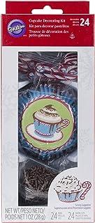 Wilton Cupcake Decorating Kit Makes 24-Cocoa, Other, Multicoloured, 5.81 x 10.89 x 23.59 cm